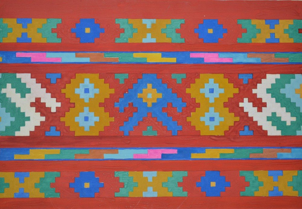 Татарский национальный орнамент картинки