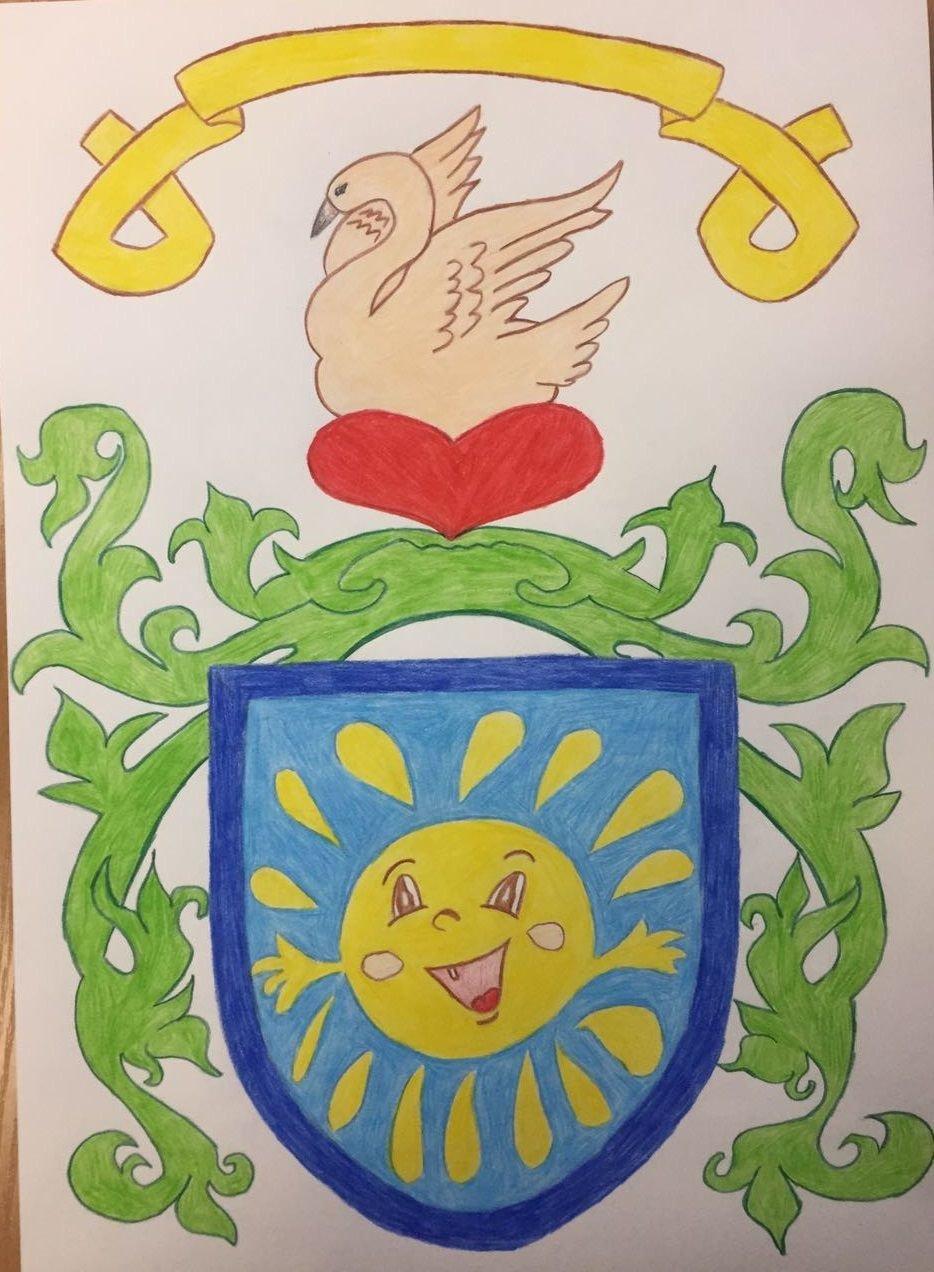 Семейный герб в школу в картинках