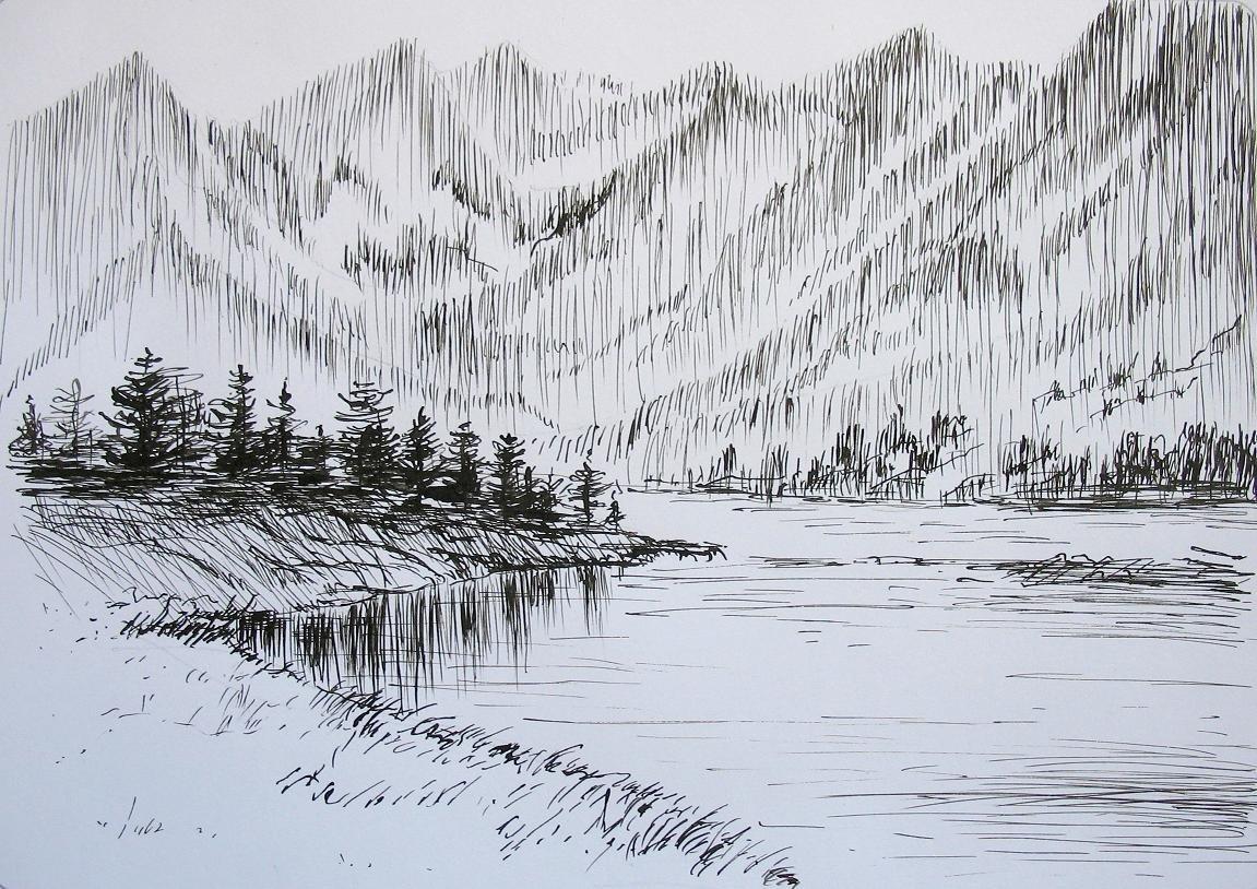 Зарисовки картинки природы