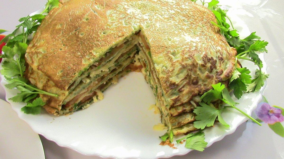 куриный торт рецепт с фото готовим дома чём