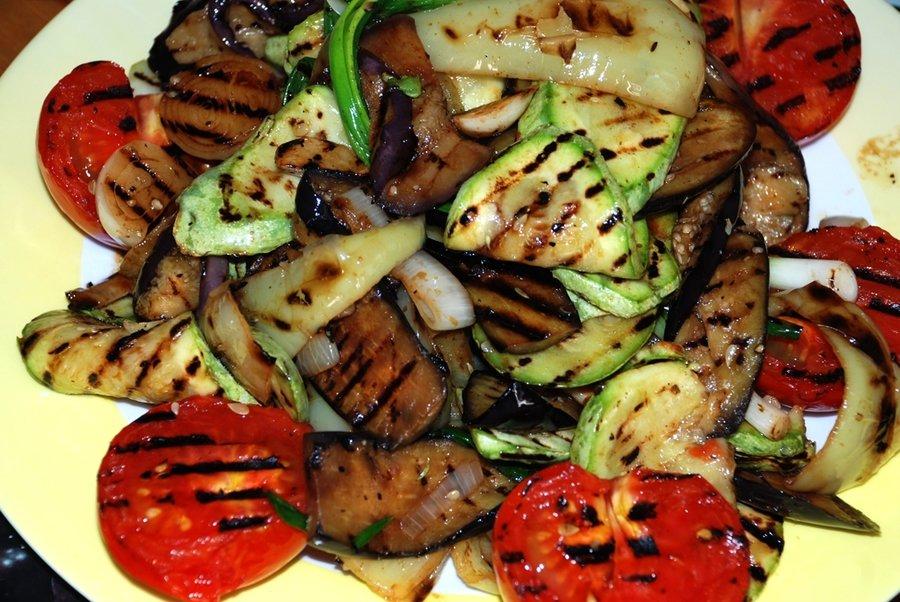 овощи на сковороде гриль рецепты с фото тебе этот