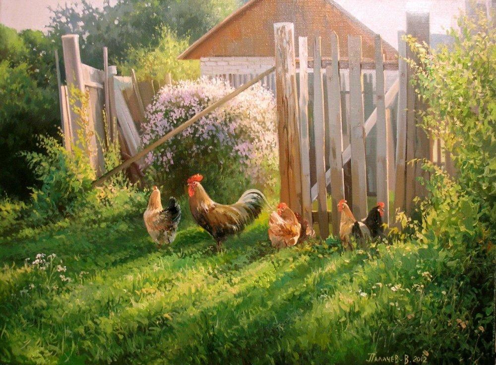 Картинки деревенские пейзажи летом, для сотового телефона