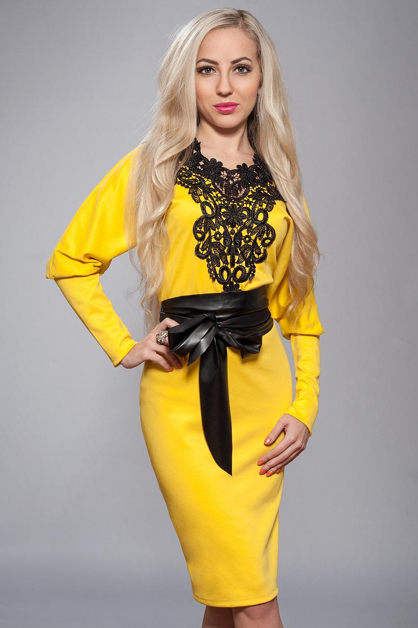 витаминная желтое платье с черным кружевом фото фотограмметрии
