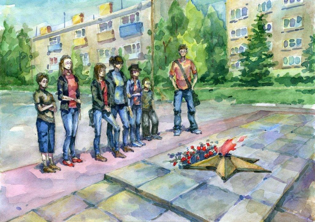 Связь поколений рисунки детей