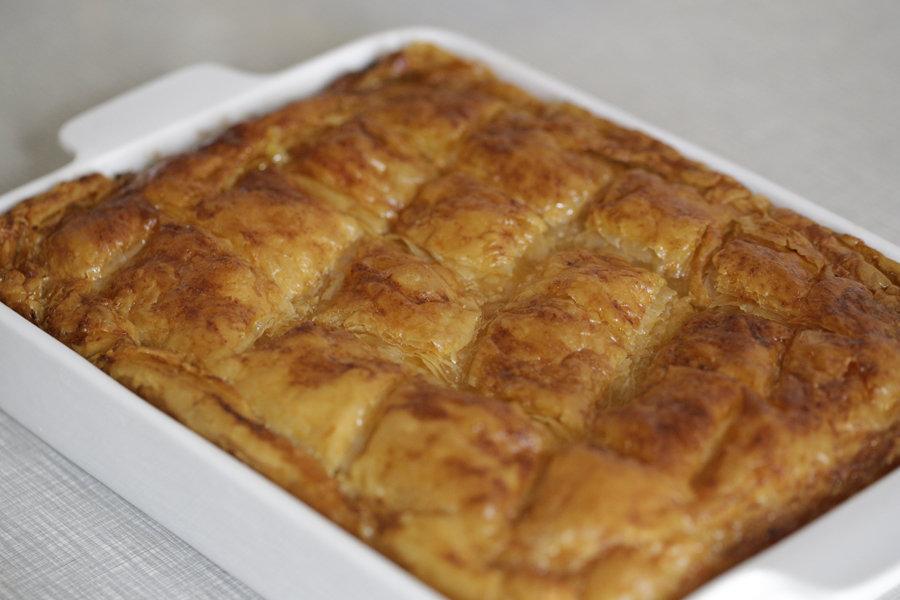 Рецепты пирогов из теста фило с фото