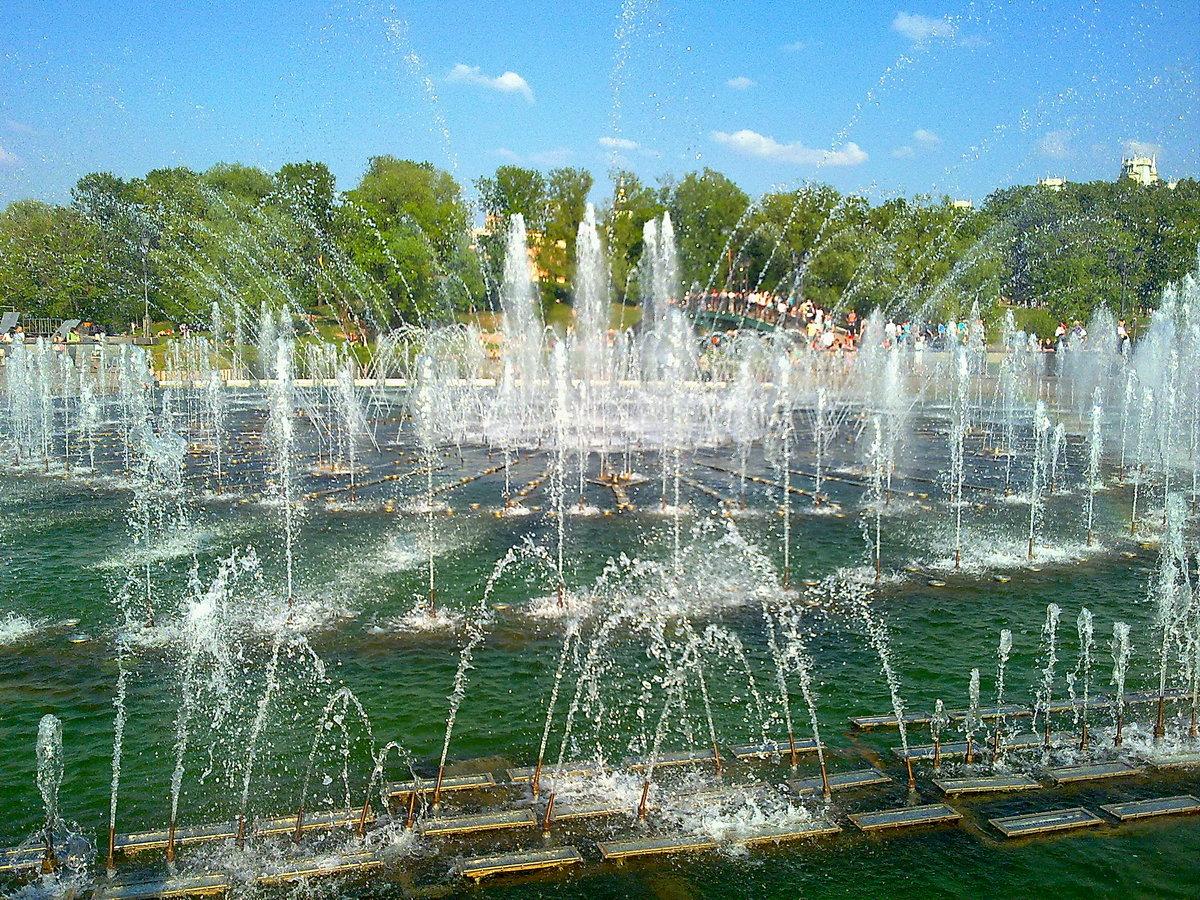 самый красивый парк в москве летом фото был