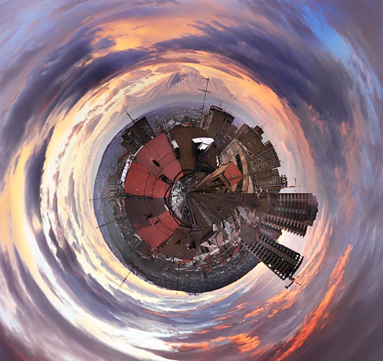 тесте создание сферические фото способов рисования красивой