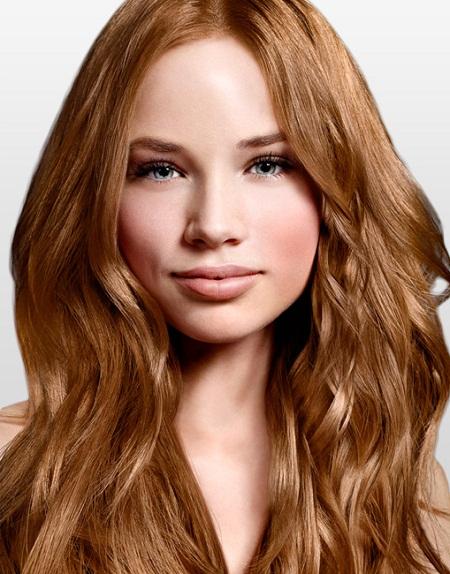 медово русый цвет волос фото