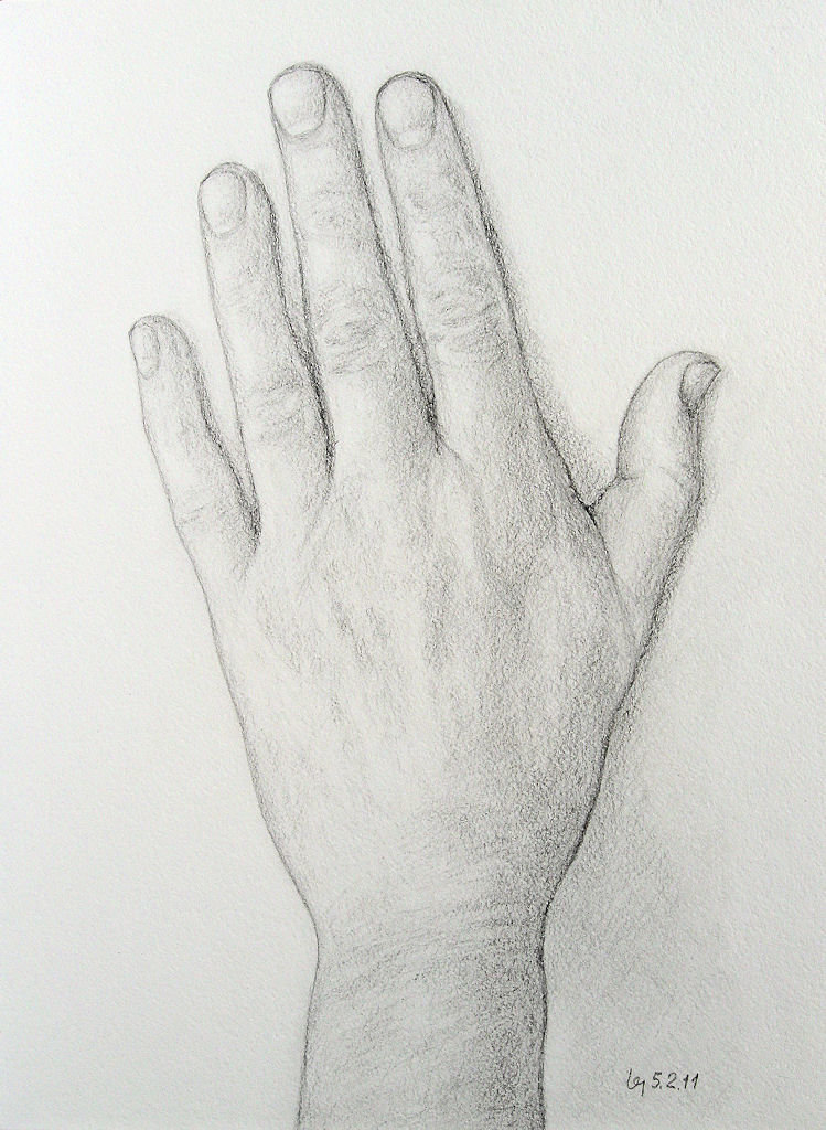прикольные картинки рисунки карандашом руки общем