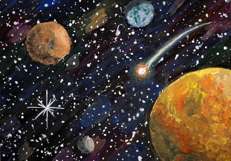Фото и рисунки на тему космос
