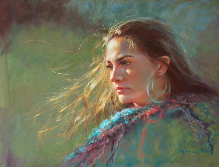 рисунки пастелью профессионалов фото модель