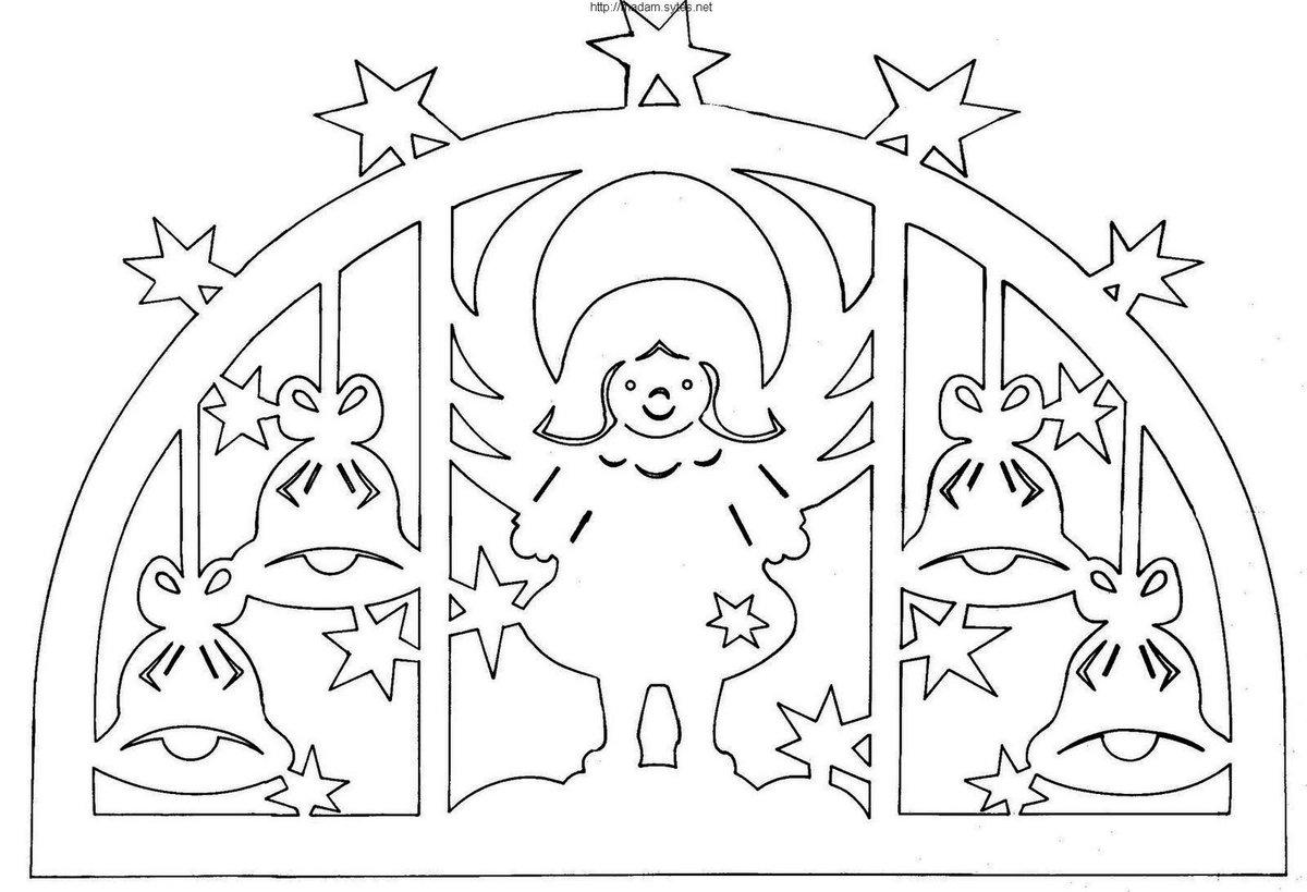 Шаблоны новогодние на окна, днем рождения