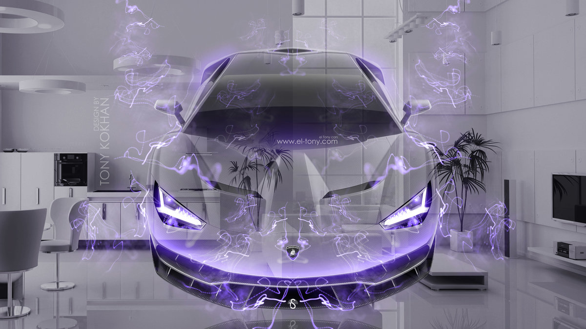 Lamborghini Centenario FrontUp Super Crystal Home Fly Energy