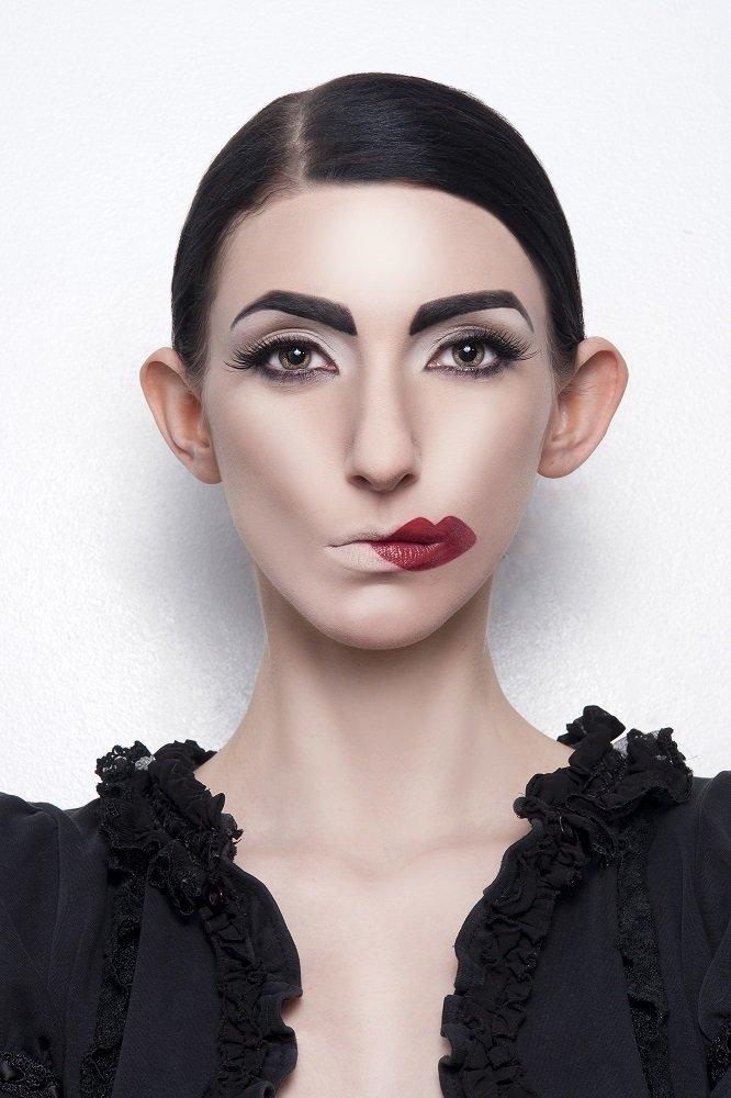 Прикольные макияжи картинки