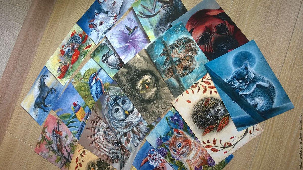 Кто рисует почтовые открытки
