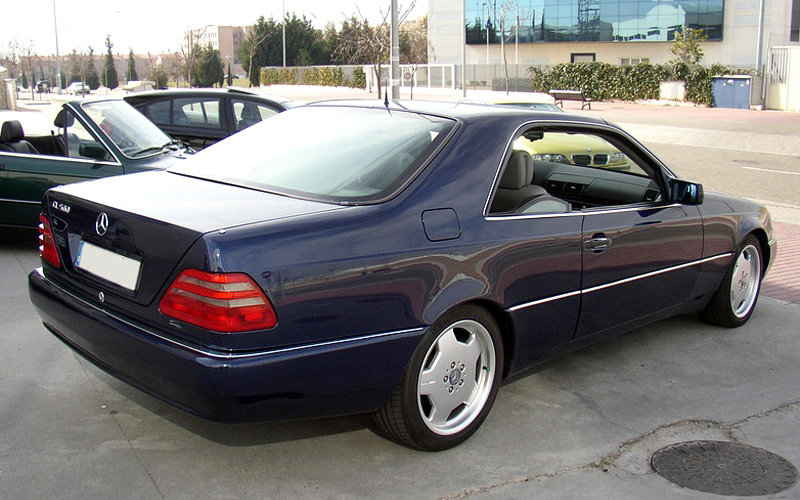 "1996 mercedes-benz cl 600 (c140) сзади"" — card from user"