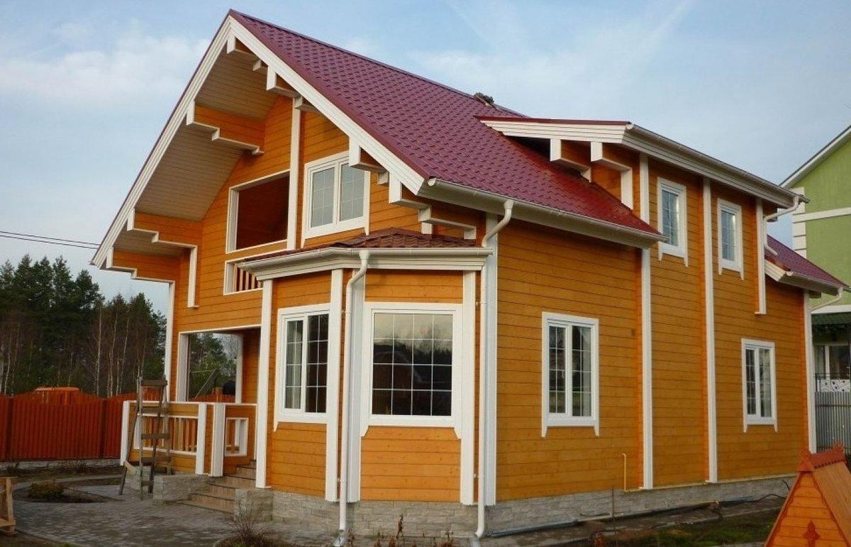 В какой цвет можно покрасить дом снаружи фото