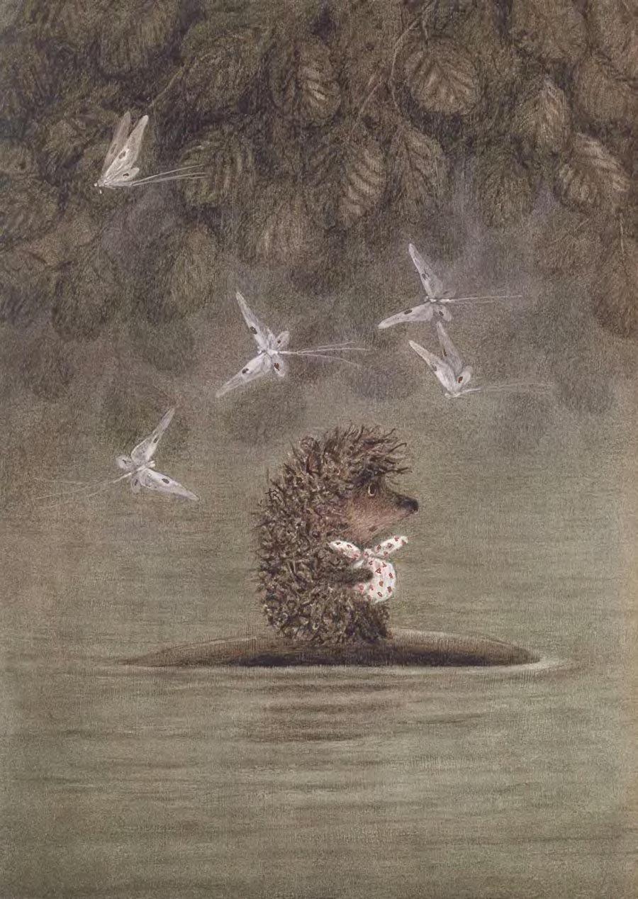 Картинки ежика в тумане качественные, картинки