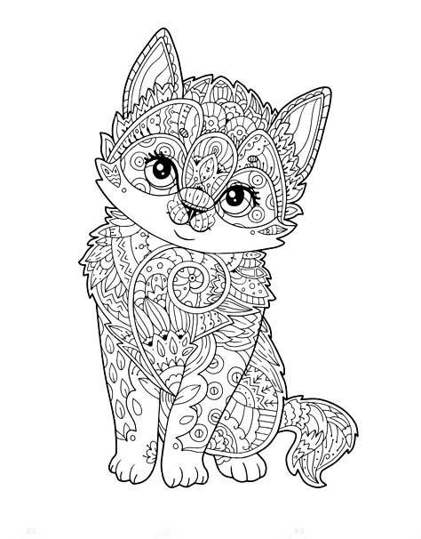 Leuke Kleurplaten Van Dieren.Kleurplaten Dieren Puppies En Kitten Kleurplaat Poesjes 5879