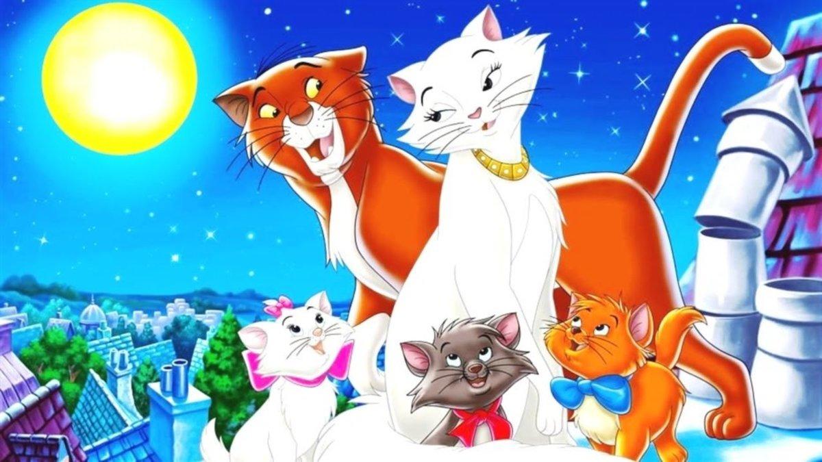 Картинки из мультфильмов с котами