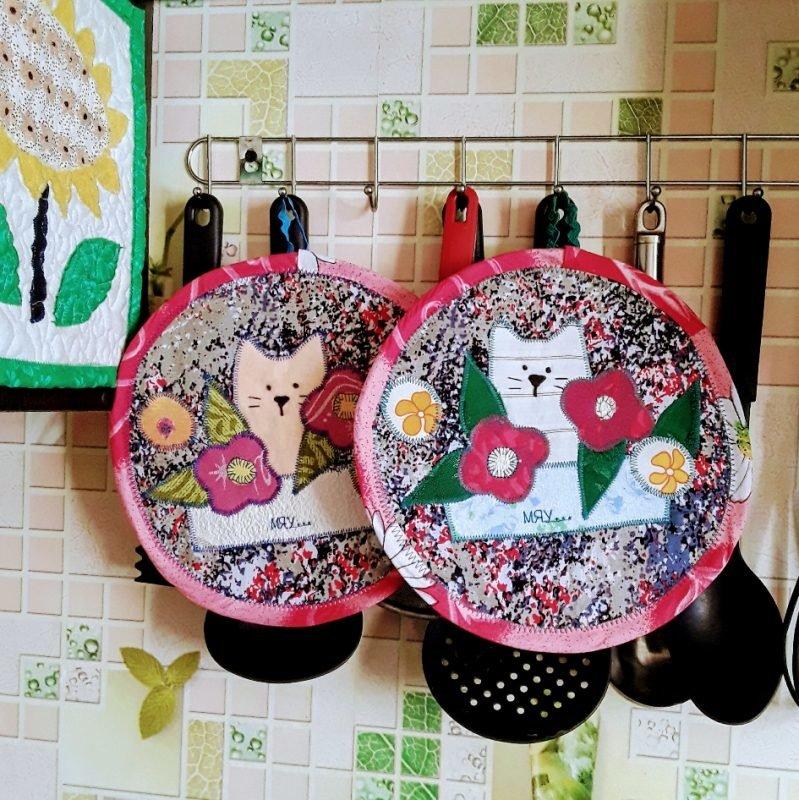 любите рукоделие из ткани декор для кухни картинки художником