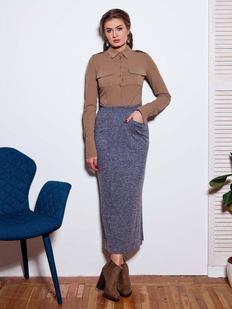 С чем носить длинную юбку летом и зимой, весной и осенью 2018 года