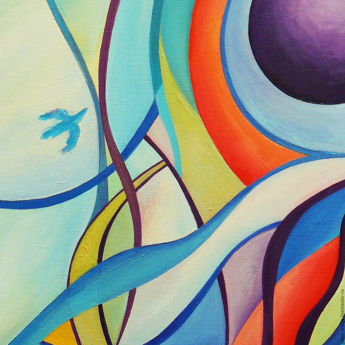 Абстракция в живописи картинки