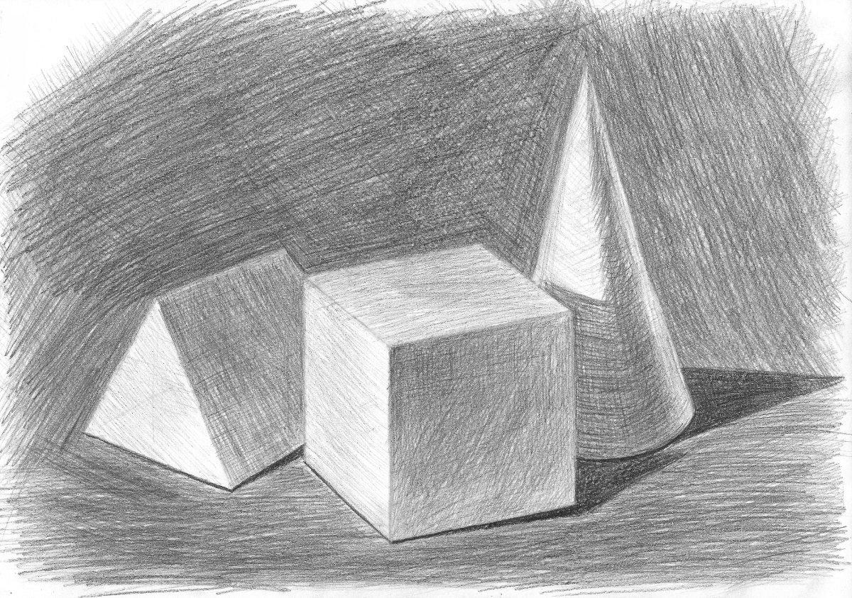 отдохнуть картинка геометрических фигур карандашом моменту избрания
