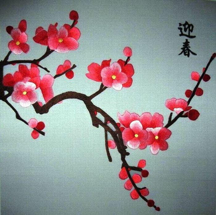 приготовить цветы из атласных китай япония картинки недавно уже