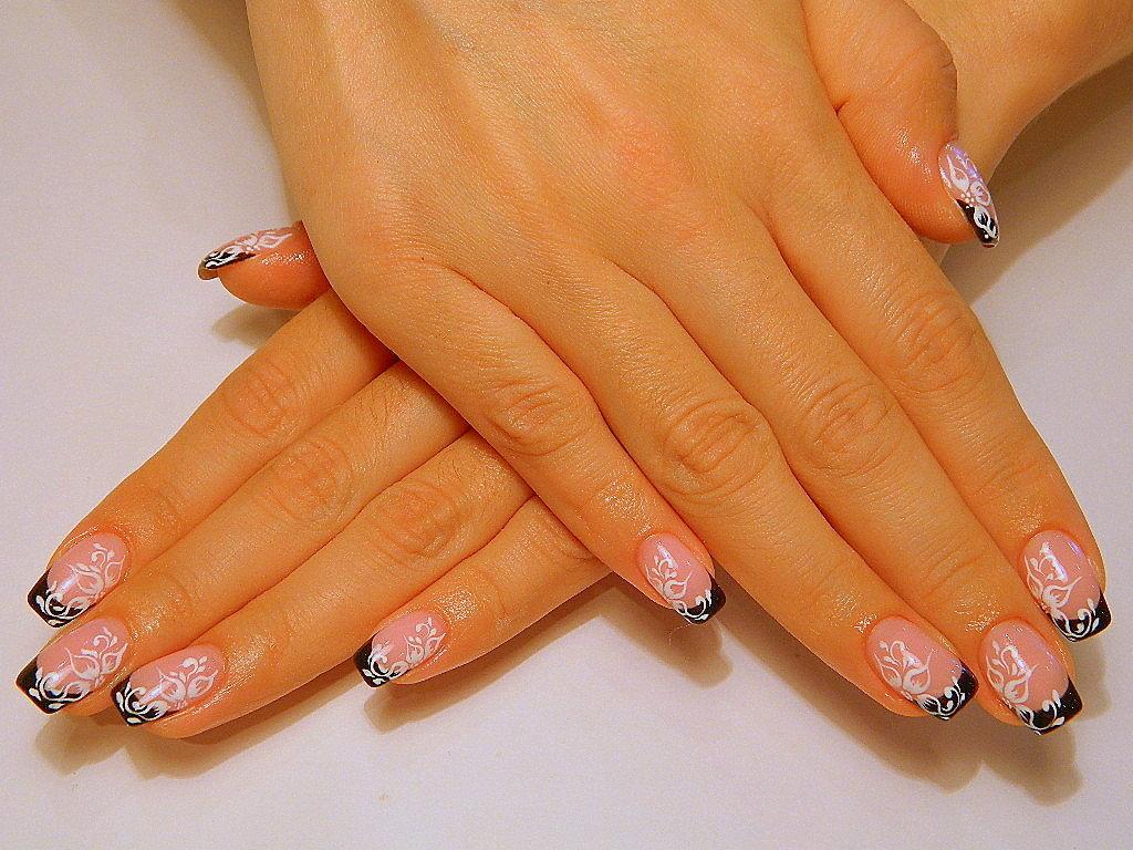 Дизайн нарощенных ногтей картинки
