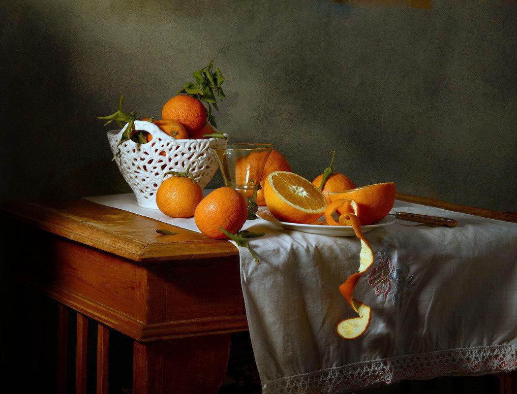зенит-е позволял красивые фото натюрмортов из апельсин темная