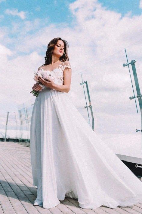 9dbbb12c0be ... Выбор свадебного платья для беременных — советы от свадебного салона  Mariage Купить самое красивое свадебное платье