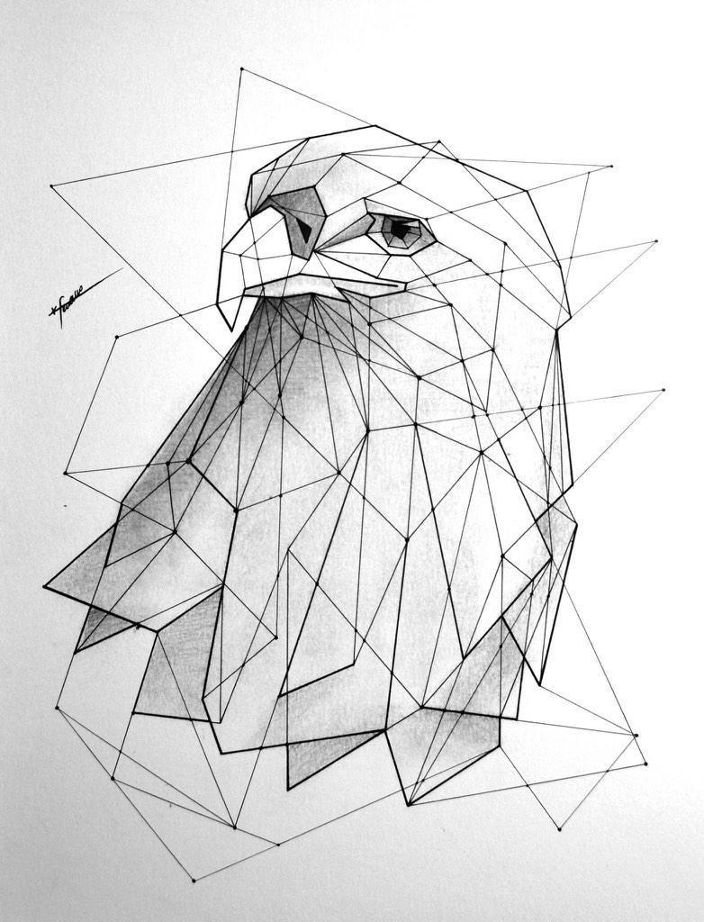 Картинки, картинки из треугольников для подростков современные
