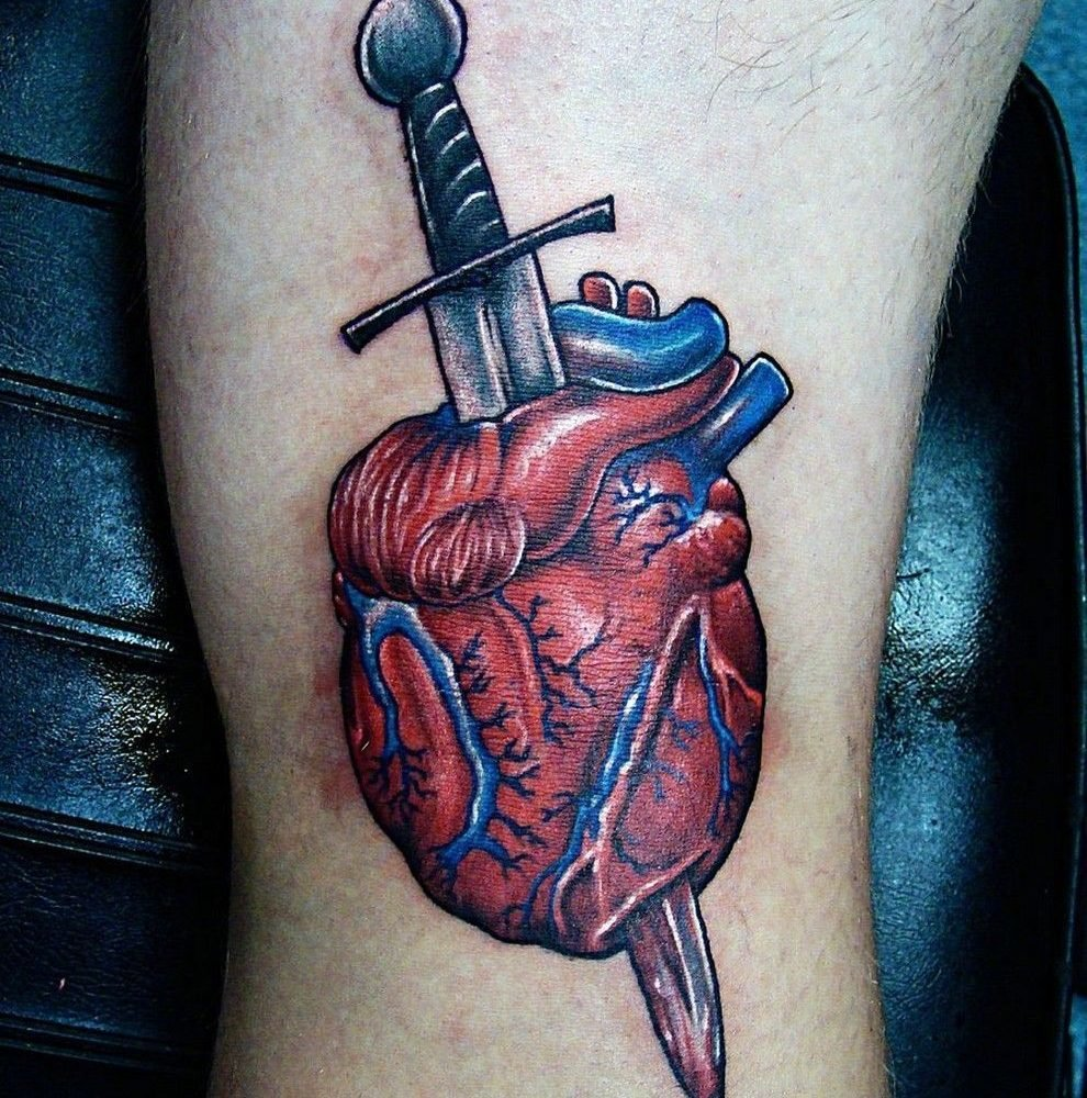 сердце пронзенное кинжалом картинки выборе, интересно