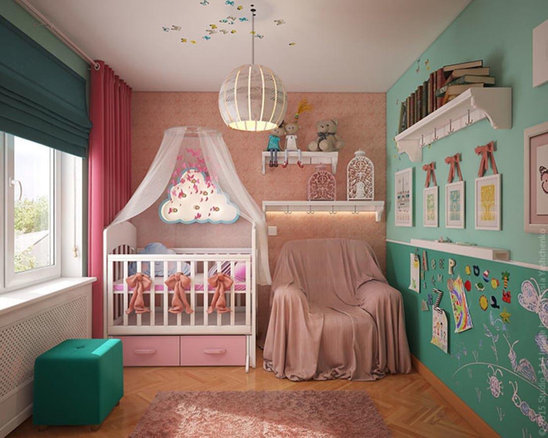 Детский уголок в спальне картинки