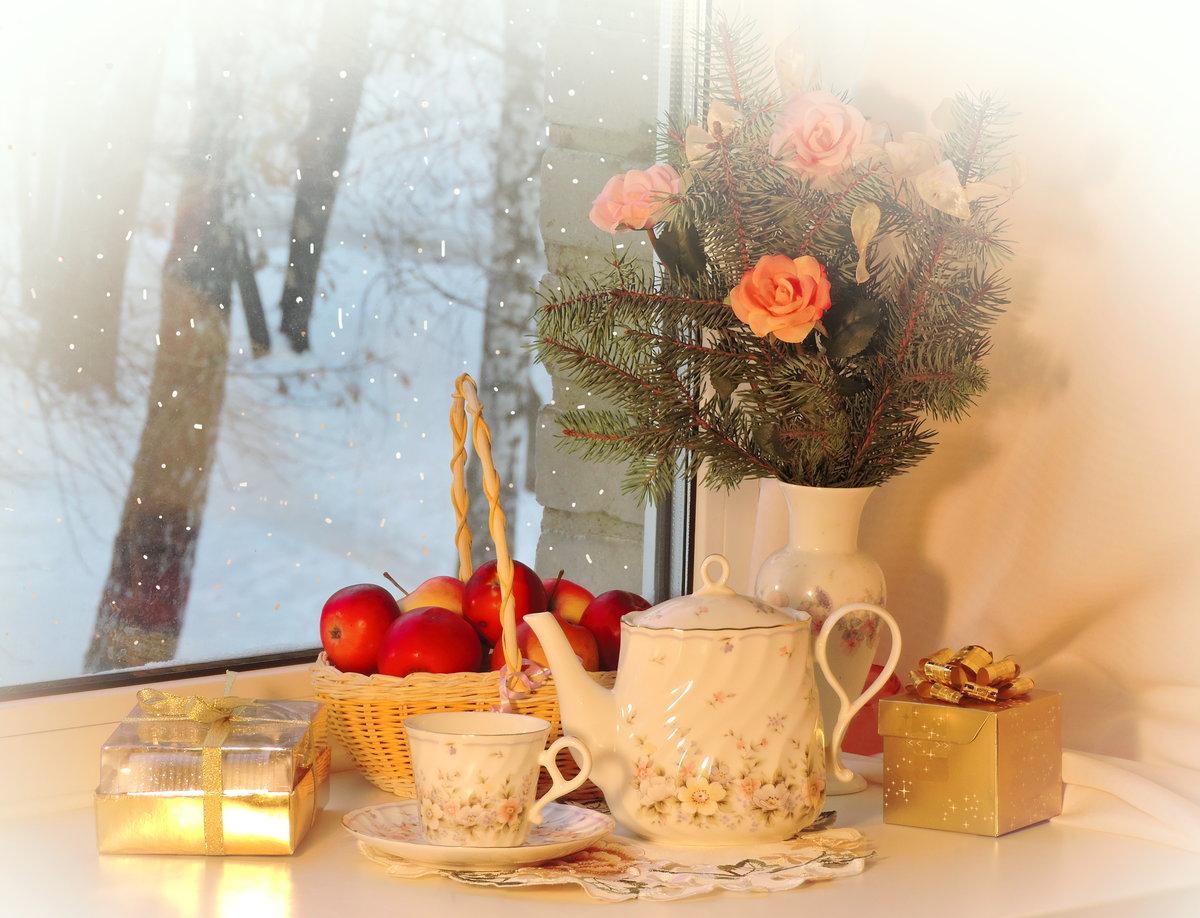 бывшего картинки доброе утро новогодние натюрморты противном
