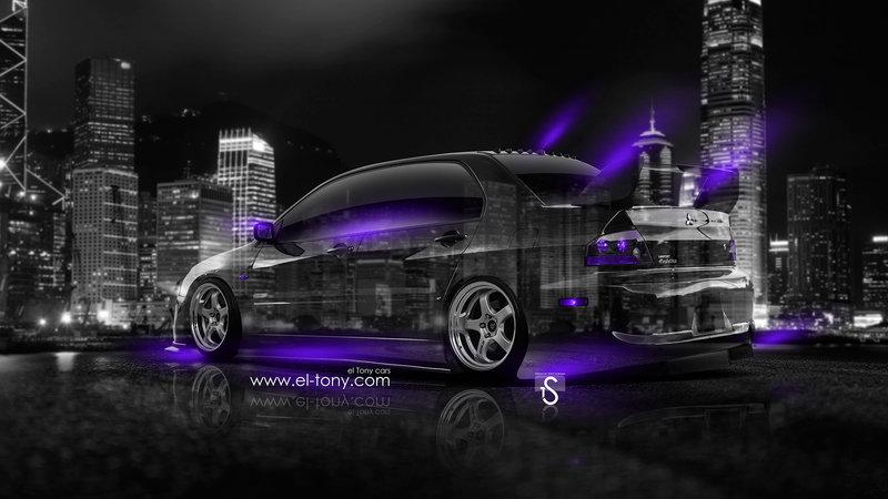 Wonderful Mitsubishi Lancer Evolution JDM Crystal City Car 2014