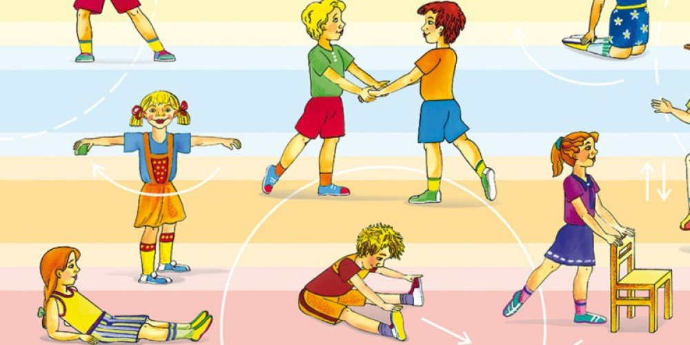 Упражнения в картинках для малышей