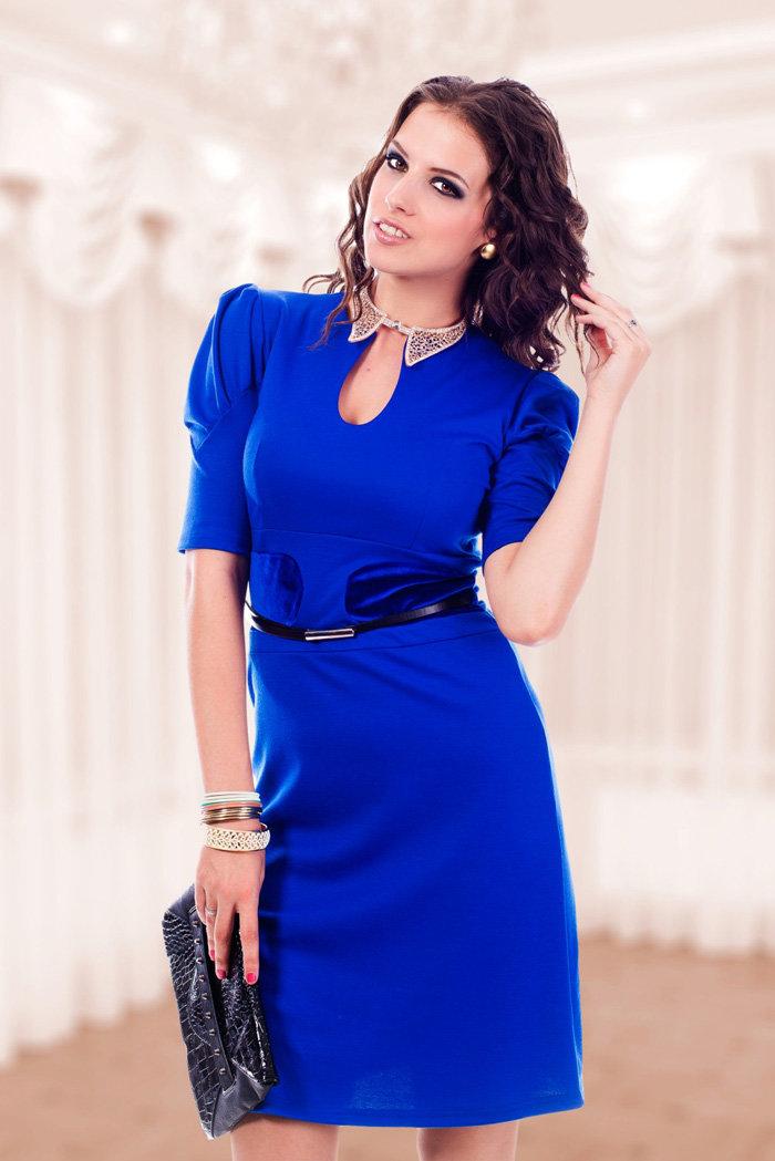 помощью фото с синим платьем нюансы особенности при