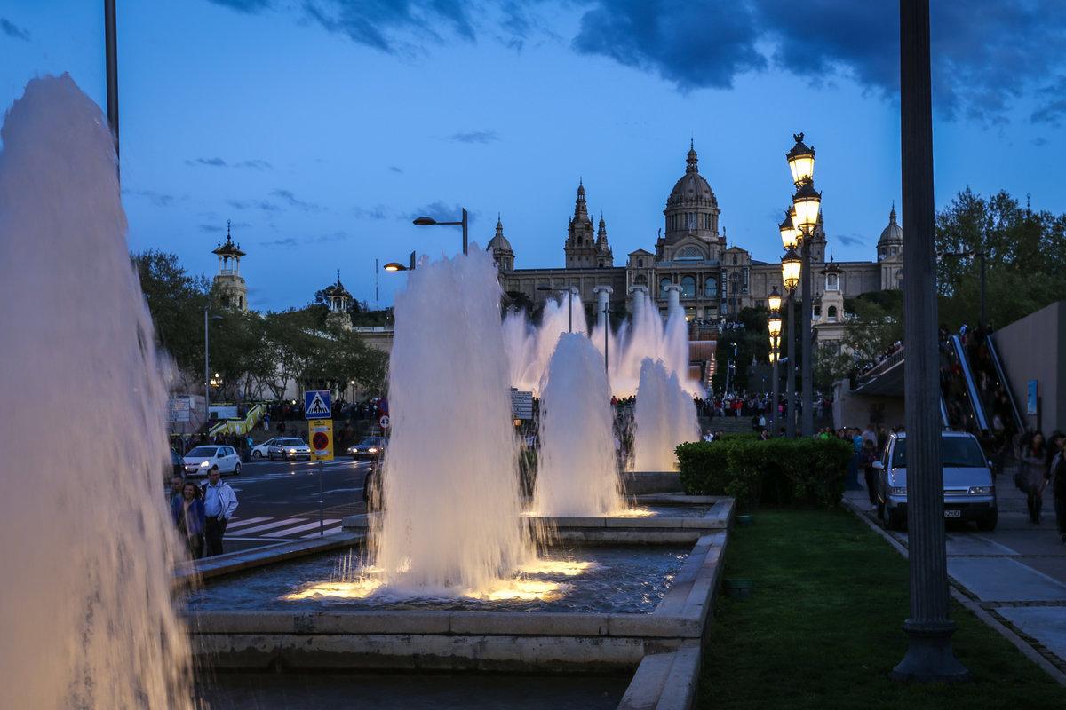 Испания фонтаны барселона фото