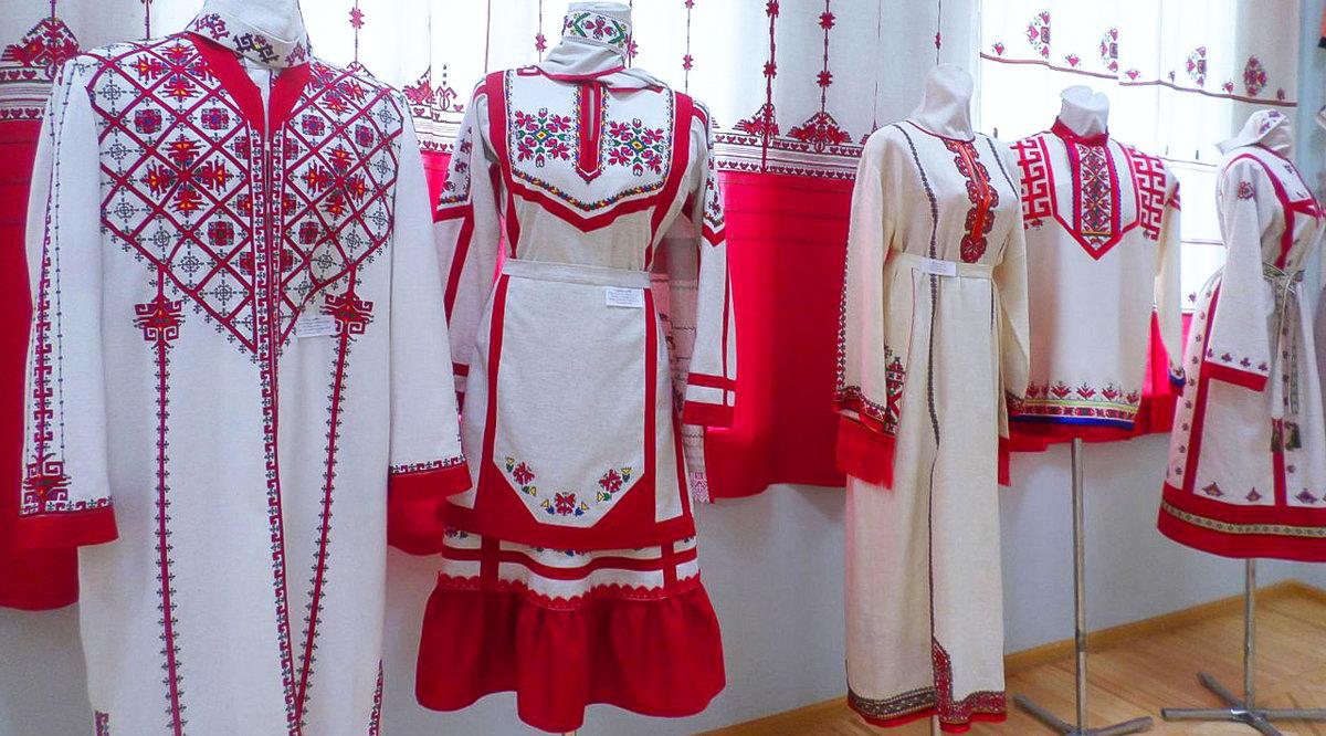 собраны картинки национального костюма чувашей решила рассказать