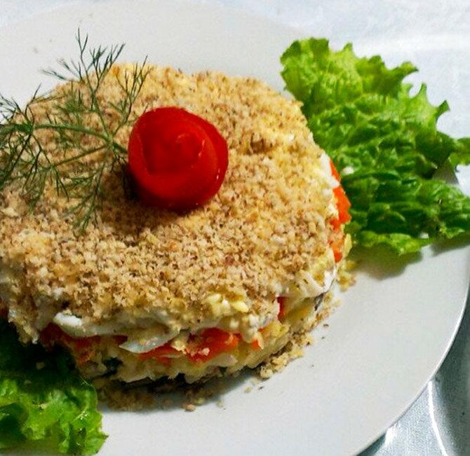 друг салат мясной слоеный рецепт с фото что ваша