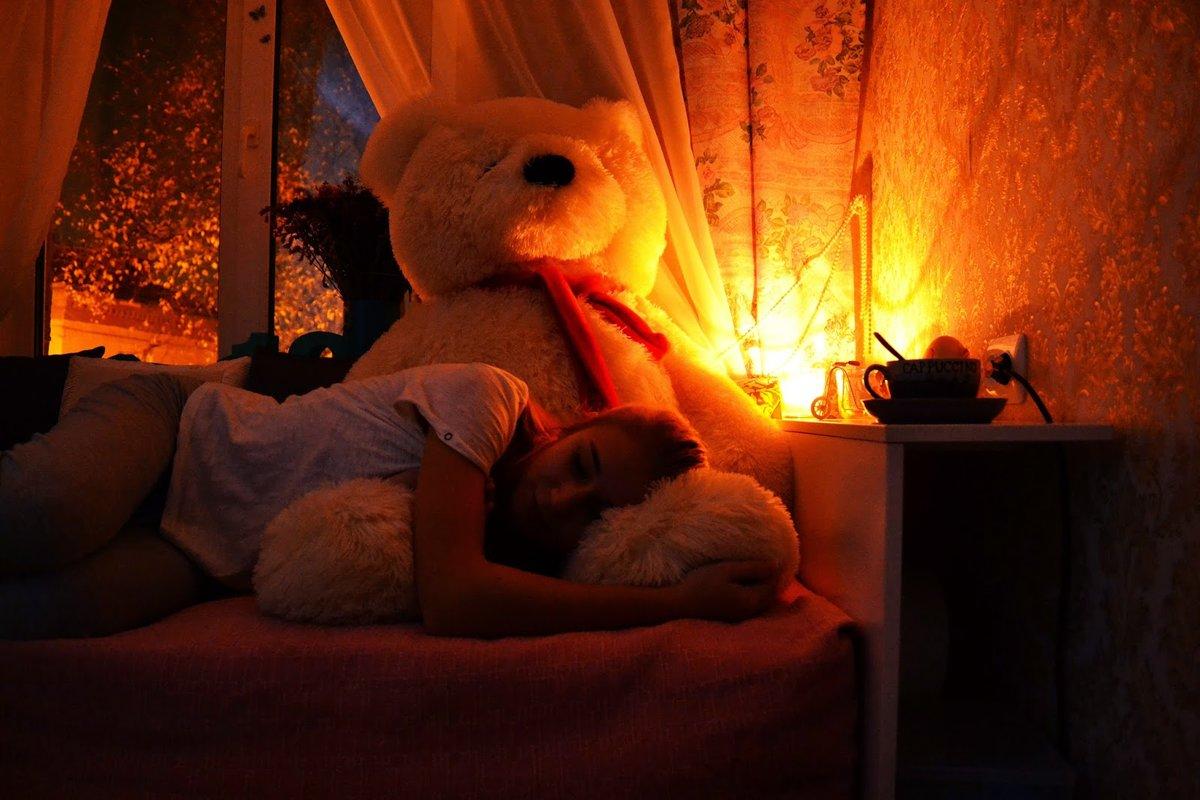 Уютные картинки на ночь девушке
