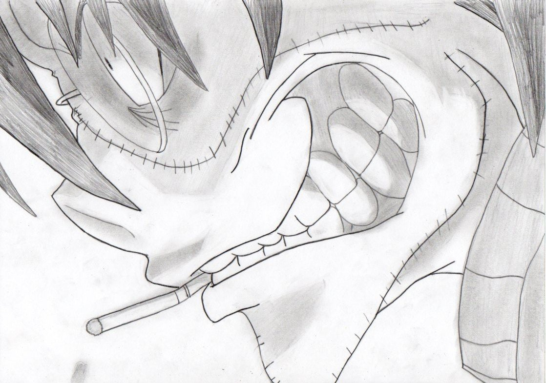 Аниме прикольные рисунки карандашом