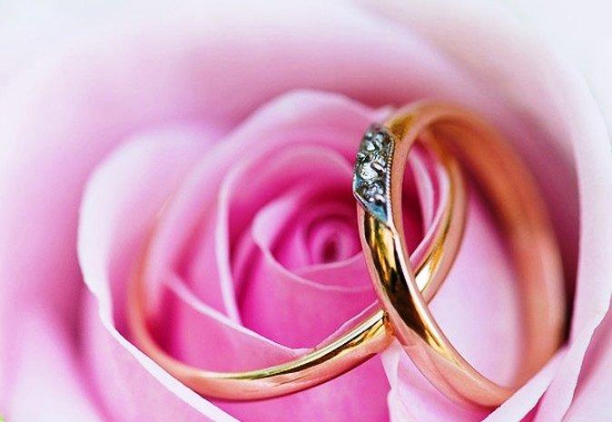 Открытка поздравление с розовой свадьбой, поздравления выпускникам школы