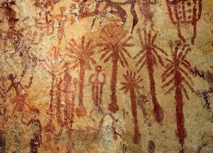 слабость картинки с древними животными и растениями марии барабановой