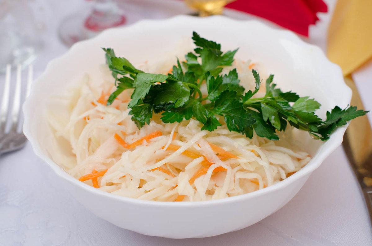 Салат из свежей капусты рецепт с фото