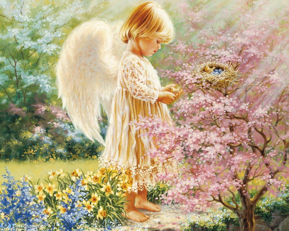 Картинки с ангелом красивые