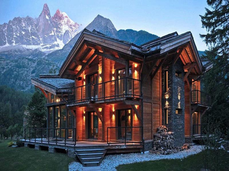 как-то загораем картинки красивые дома из камня и дерева проекты крестнице