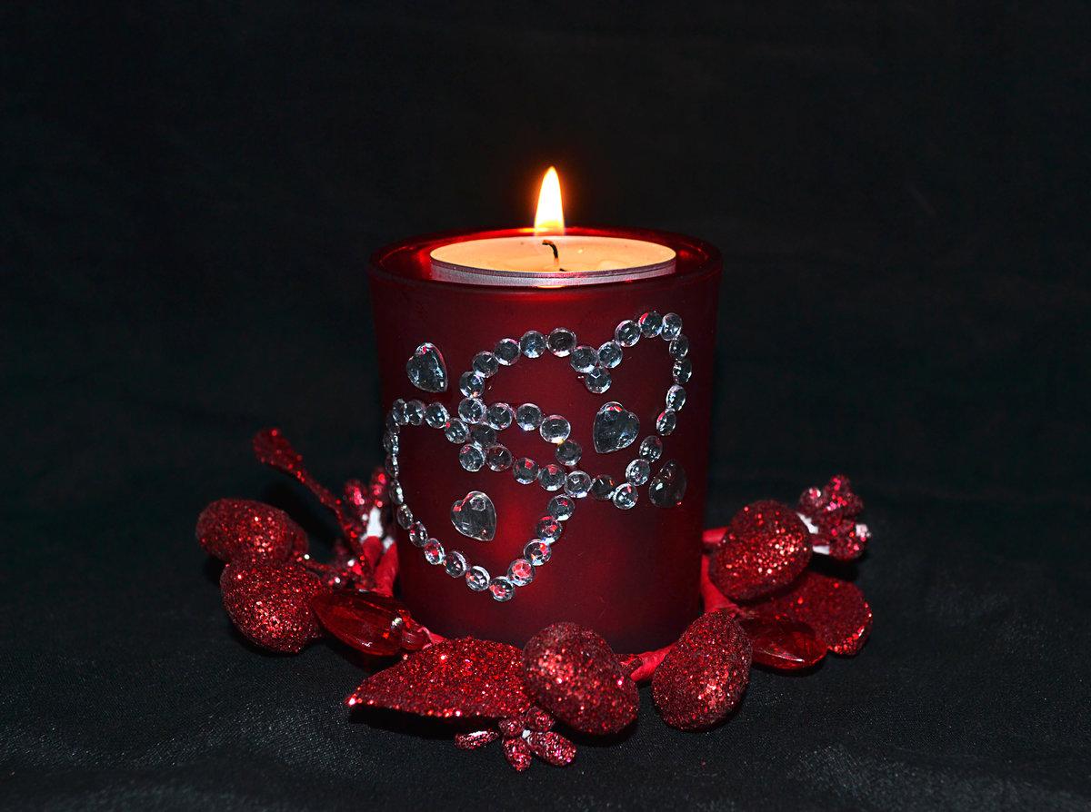 фото свечей и любви куски, углублённые